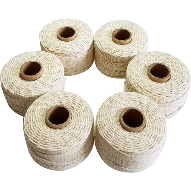 100%  Natural cotton rope 80m/roll twine Cords 6pcs/lot String thread for Hang Tag accessory DIY