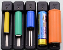 Recharge 16340 18650 14500 26650 AA AAA Flishlight Battery Charging Rechargeable Lithium Ion 3.6V 3.7V Li-ion Battery Charger