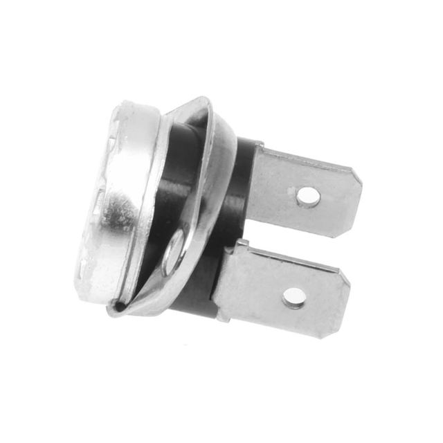 2Pcs 95C KSD301 N.C. Temperature Control Switch Thermostat Right Angle