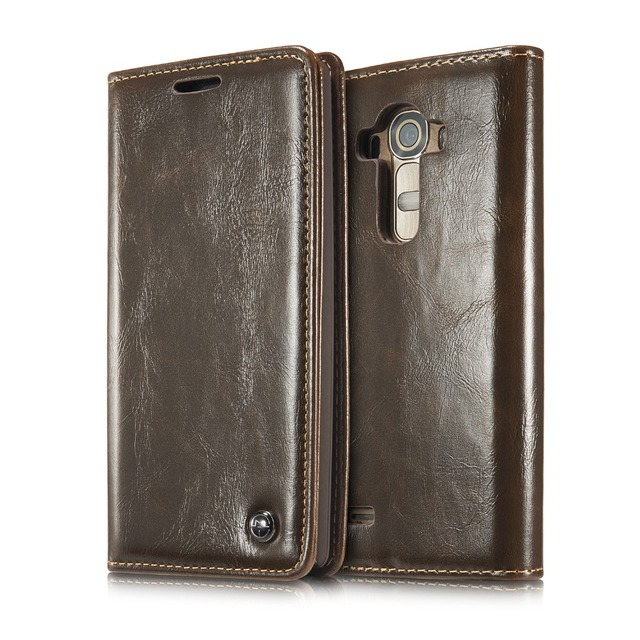 High Quality Luxury Leather Cases Cover For LG G4 Case With Magnetic Wallet Flip Case For LG G4 Cases Bags