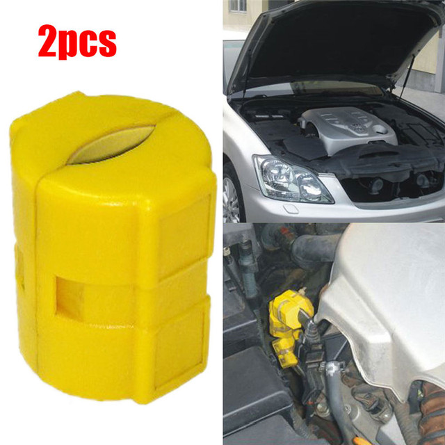 New 1 Pair Universal Convenient Durable Useful High Quality Magnetic Fuel Saver For Car Truck Boat Saving Fuel Economizer#267685