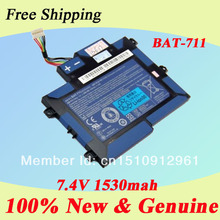 Original battery for Acer Iconia A100 a101 Tablet Battery BAT-711 7.4V 1530mAh free shipping