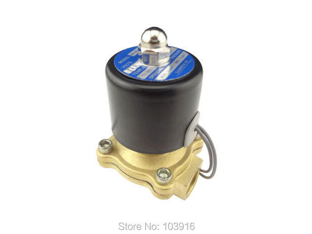 """10 units of New DC 12V G1/2""""(BSP) Electric Solenoid Valve for Air Water Gas Diesel"""