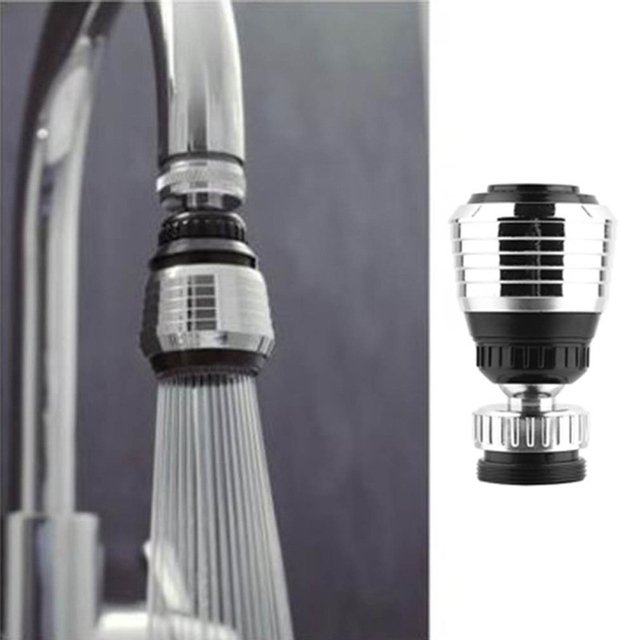 360 Rotate Swivel Faucet Nozzle Water Adapter Water Purifier Saving Tap Diffuser Kitchen Accessories