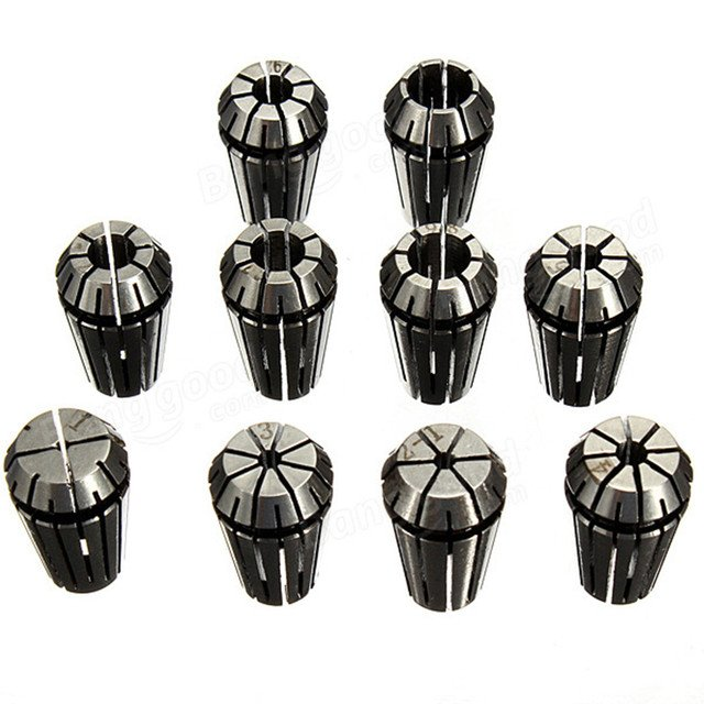 CNC ER16  tool holder collets 1mm to 10mm Chuck Collet  Spring Collet Set  For CNC Milling Lathe Tool