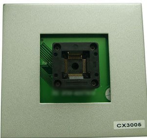 Free shipping    CX3005 test TQFP44 programmer special conversion adapter