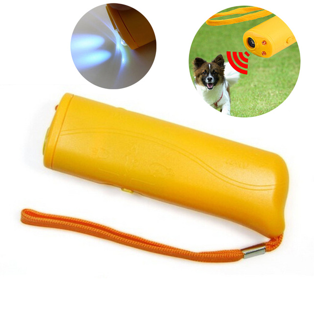 130*26*40mm Ultrasonic Dog Repeller Dog Training Device Pet Training Machine Convenient Useful Obedience Pet Supplies