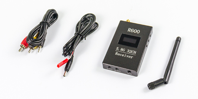 Skyzone R600 OLED Display 5.8g 32ch Receiver for FPV 5.8Ghz High Sensitivity RX receiving Sensitivity 95dBm ( 5.8 g Ghz 95 dBm )