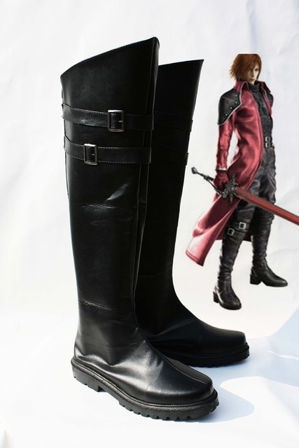 Custom made Genesis Shoes from Final Fantasy Cosplay