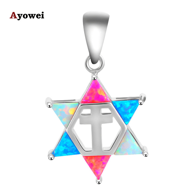 New come Designer ! Noble Color fire Opal Fashion Silver stamp Pendants fashion jewelry for women OP456