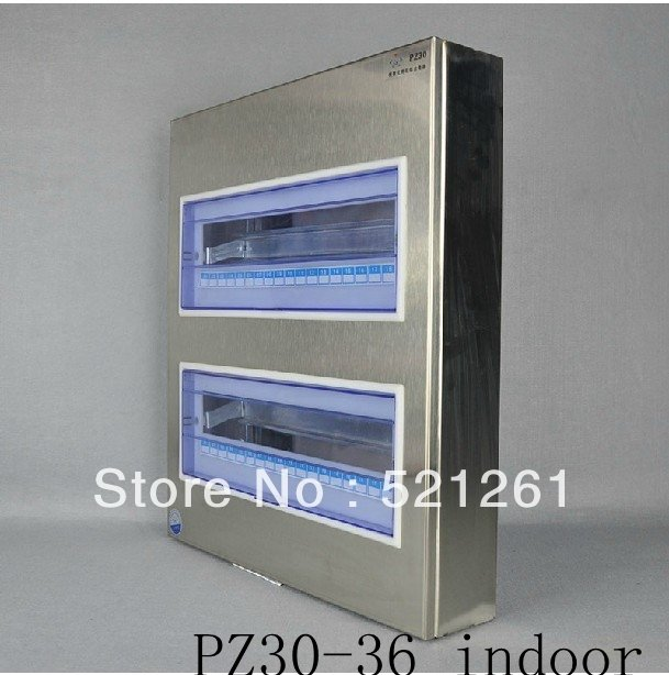 PZ30 Electrical Metal Power Distribution Box switch box pz30-36 indoor stainless steel box surface mount box