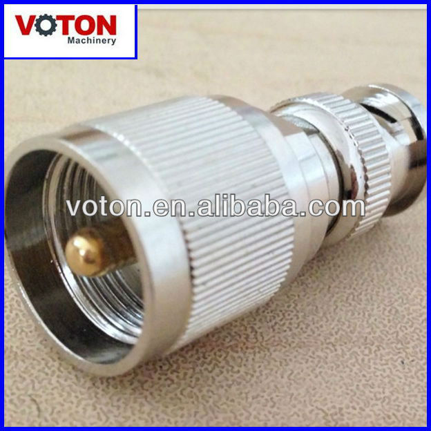 free shipping BNC Male to PL259 UHF Male adaptor