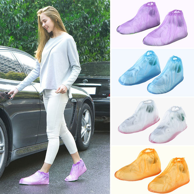 1 Pair Rain Shoes Cases Rain Shoe Covers Shoes Boot Cover Useful Unisex Outdoor Anti-Slip