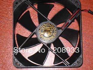 For Yue, 12 DC12V 0.30A the Lun D12SM-, 12 cm 12025 fan computer power supply +cooling fan