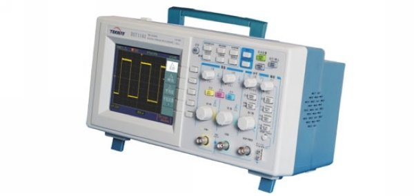"""DHL Free Shipping,Tekway DST1102B Oscilloscope,2channels 100MHz 1GSa/s, 7""""TFT 16-digit color,800*480 Resolution"""
