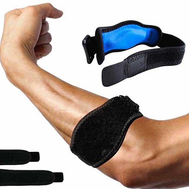 Basketball Badminton Tennis Golf Elbow Brace Support Kneepad Strap Elbow Pads Compression Guard Syndrome Epicondylitis Brace