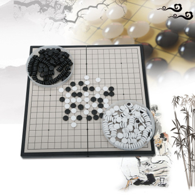 Go Game Magnetic Teaching Go Game Medium 28.5*28.5cm Go Game Teaching Weiqi Training Specifically for Go Game