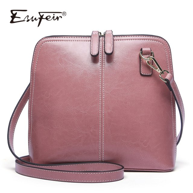 Genuine Leather Women Shoulder Bag Fashion Crossbody Bag Luxury Handbag Women Bag Designer Ladies Messenger Bags for Women 2019