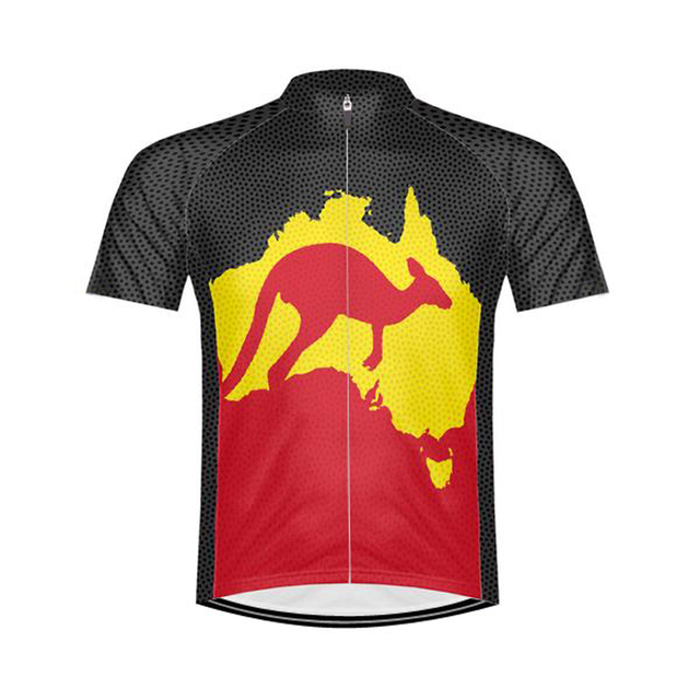NEW 2017 JIASHUO Australia Classical pro RACE Team Bicycle Bike Cycling Jersey / Wear / Clothing / Breathable Customized