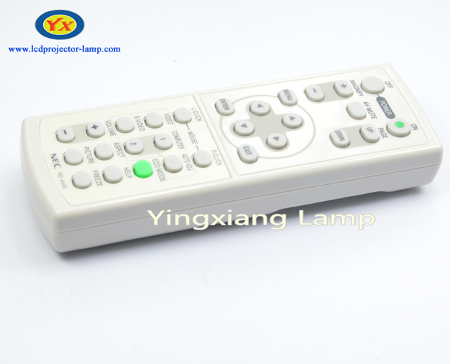 Original Projector Remote Control For NEC VT580 / VT595