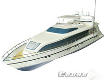 Free Shipping RC Boat Model GL300A 26CC Gas Powered Large Boats Yachts Aurora 1300GP260(Pearl White)-RTR(Pistol Transmitter)Toys