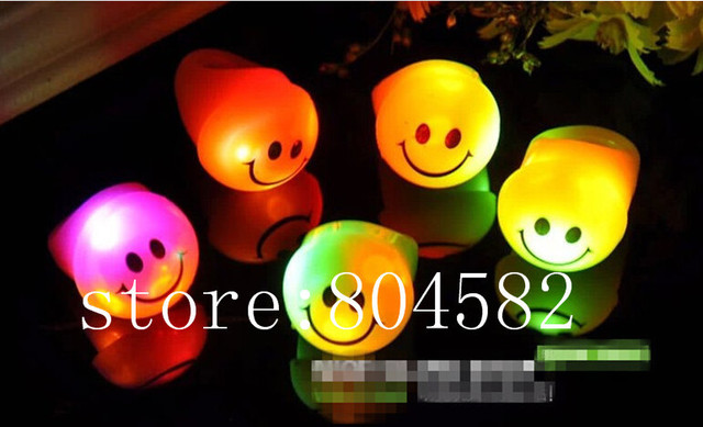 Light Up Toys Christmas Led Flashing Rings Finger Lights Smile Face Party Bar Toy  Holiday Fesative Supplies 500pcs/lot T5