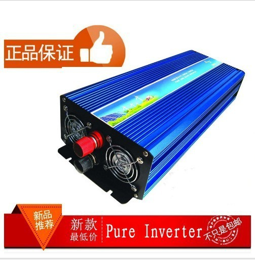 4000W 24V dc to 220V ac Pure Sine Wave Power Inverter 4000W off inverter car inverter Free shipping