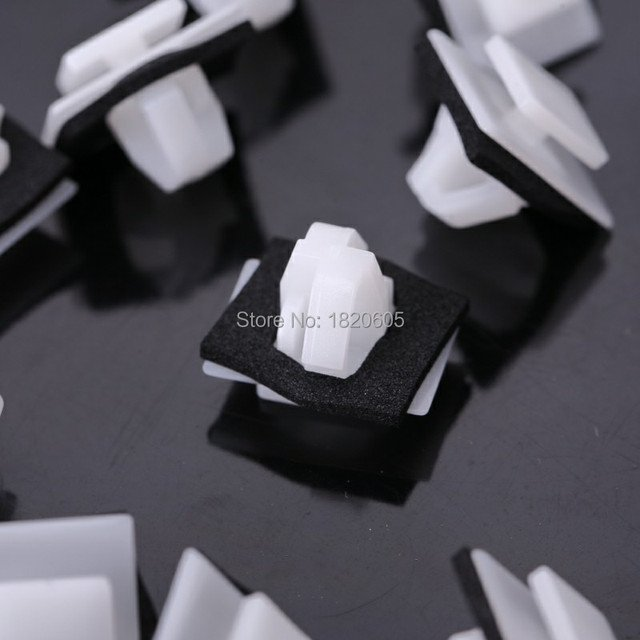 500pcs Car Clips For Hyundai 87756-2E000 Moulding Clip With Sealer Fit For Kia