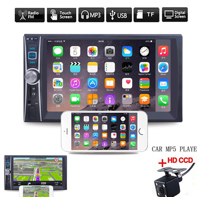 6.6 Inch 2 din HD  Multimidia MP5 Player Touch Screen Universal car radio MP5 player Car Stereo MP5 Player