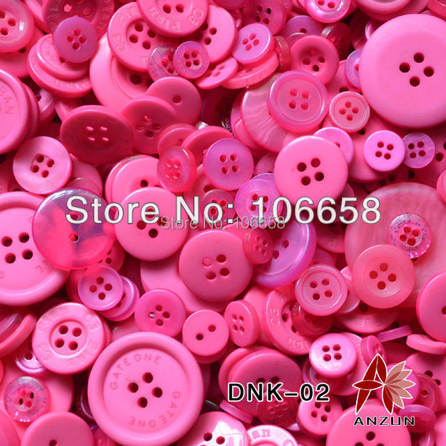 100g Mixed Button approx 200pcs buttons Fashion Fastener for Craft And DIY Button for scrapbooking Frame wedding decoration