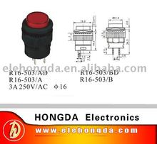 push Button switch  R16-503