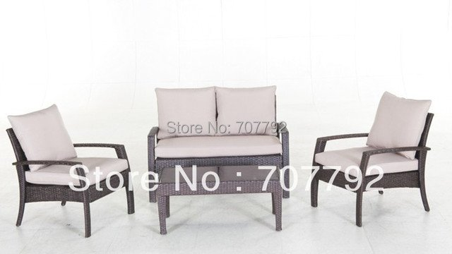 New Design synthetic rattan outdoor furniture