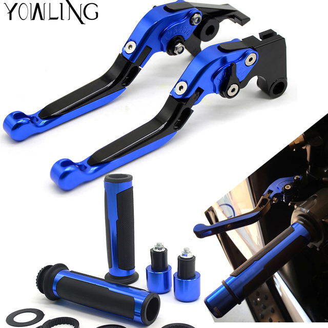 Motorcycle Accessories Folding Extendable Brake Clutch Levers handle grips For honda CBR929RR CBR 929 RR 2000 2001