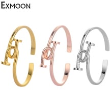 2017 New Design Hot Screw Double Nail Bracelets& Bangles Women Silver Color Gold-Color Open Cuff Bracelet Pulseras Free Shipping