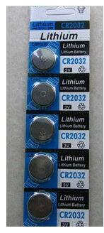 free shipping 20pcs/lot 3V CR2032 lithium button battery coin cell