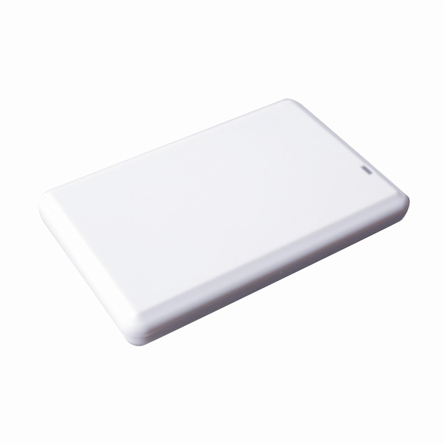 USB 2.0 desktop uhf rfid reader writer 860-960 Mhz build-in 3 dBi antenna + Free SDK  source code  ISO18000-6C/ 6B