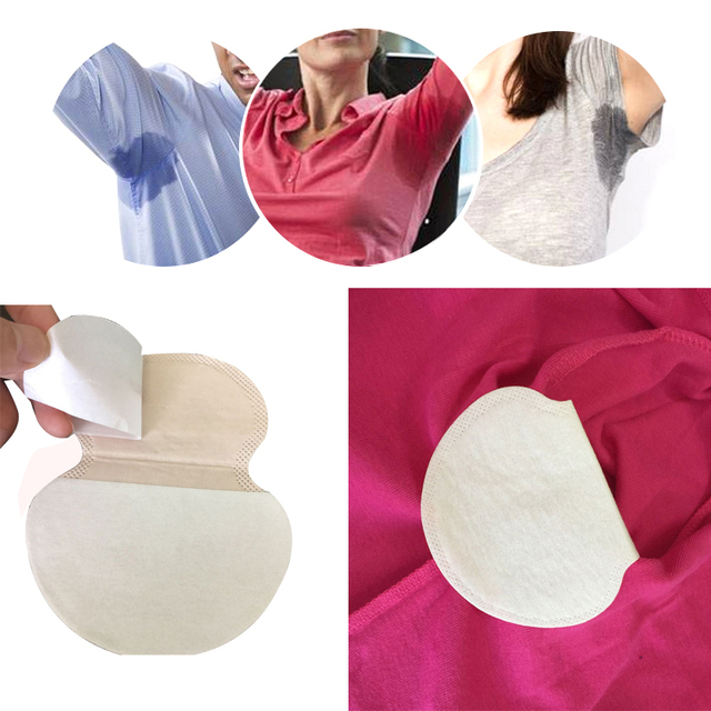 24Pcs/12Pack Underarm Disposable Absorbing Sweat Guard Pads Armpits Pads Anti Perspiration Absorvente Sweating Deodorant Sticker