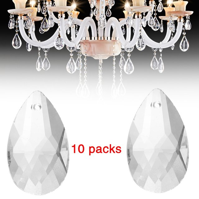 Transparent Hanging Chandelier Ceiling Lamp Pendants Light High Quality NEW Home Chirstmas Decor