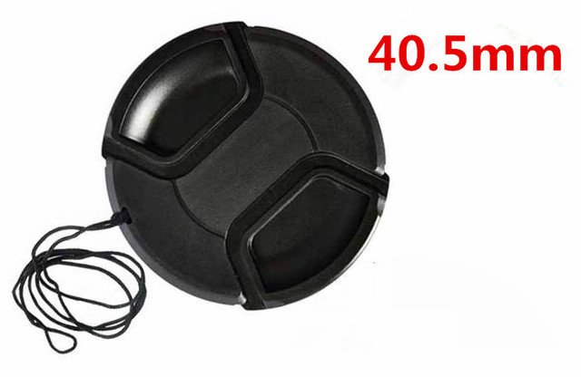 40.5mm center pinch Snap-on cap cover for 40.5mm  camera Lens