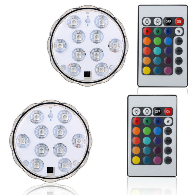 NEW PRODUCTS Kitosun Waterproof LED Lights Remote Controlled Pool Lighting Tea Lights Candle Lights for Wedding Party Halloween
