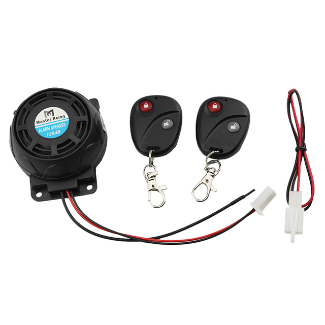 Motorcycle Scooter Vibration Alarm 9-16v Remote Control Anti-theft Security Burglar Alarm System Motorbike Theft Protection