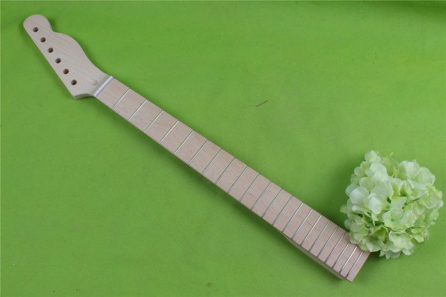 New One Good Unfinished electric   guitar neck    maple  made and  maple fingerboard