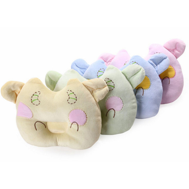 Baby Shaping Pillow Baby Soft Stereotypes pillow  Anti-rollover Head Positioner Cartoon Calves Shaped Baby  Soft Toy