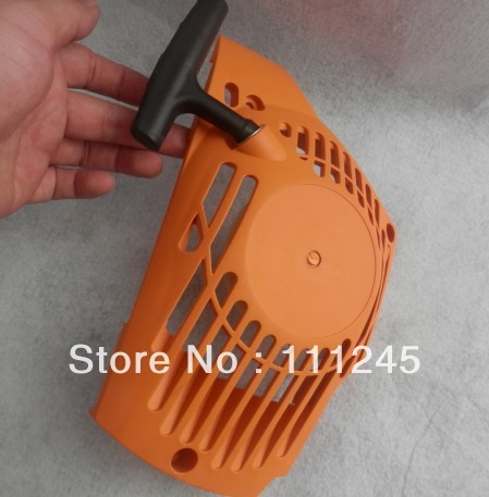 RECOIL STARTER ASSEMBLY 4T FOR PARTNER 340 CHAINSAWS PULL START COVER REEL PULLEY ROPE KNOB GRIP HANDLE REWIND SPRING ASSEMBLY