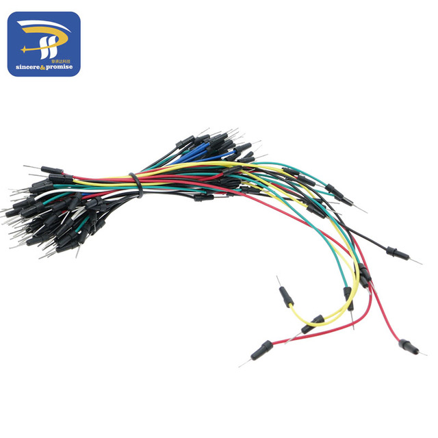 Jumpers Kit Cable Pack Protoboard Solderless Breadboard Jumper Wire Board Cable Kit Module Jumper Wires 65pcs/set