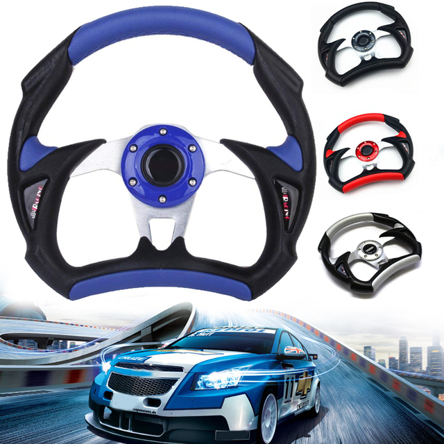 Cars Universal Comfortable Modified Steering Wheel Drift Racing Wheel Sports Steering Wheel Fashion Hub Button