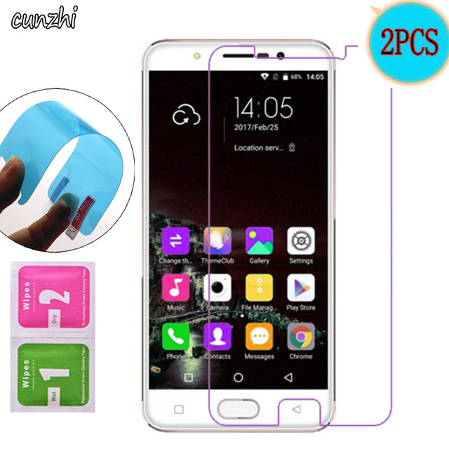 2PCS  Soft Ultra Clear Nano-coated Tempered Explosion proof Screen Protector Film For Gretel A9