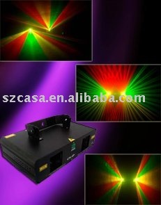 Double Red+Green mixed Yellow laser lighting DMX Disco DJ party club stage lighting