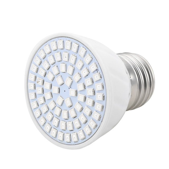 E27 36W 72 SMD LED Beads Bulb Light Lamp For Plants Flowers Growth Greenhouse