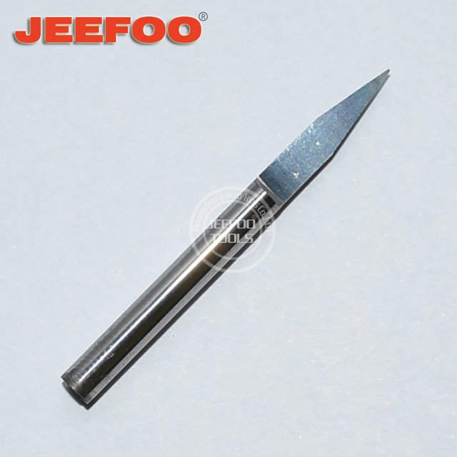 3.175*20Degree*0.2 One Flute Engraving Tools/End Mill Engraving Bits /V Shape Engraving Bit/PCB Cutters